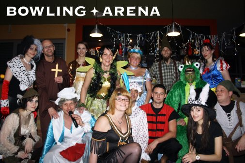 Fasching in der BOWLING-ARENA