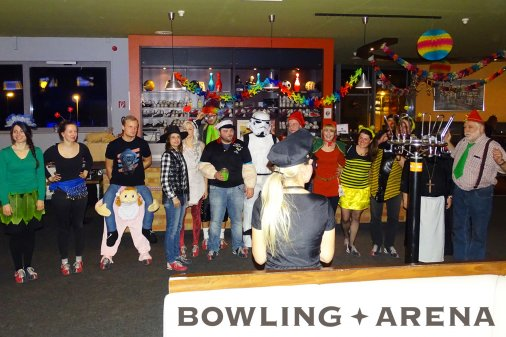 FASCHINGSPARTY in der BOWLING-ARENA