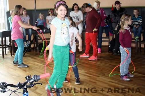 BOWLING-ARENA Kinderfest 2016